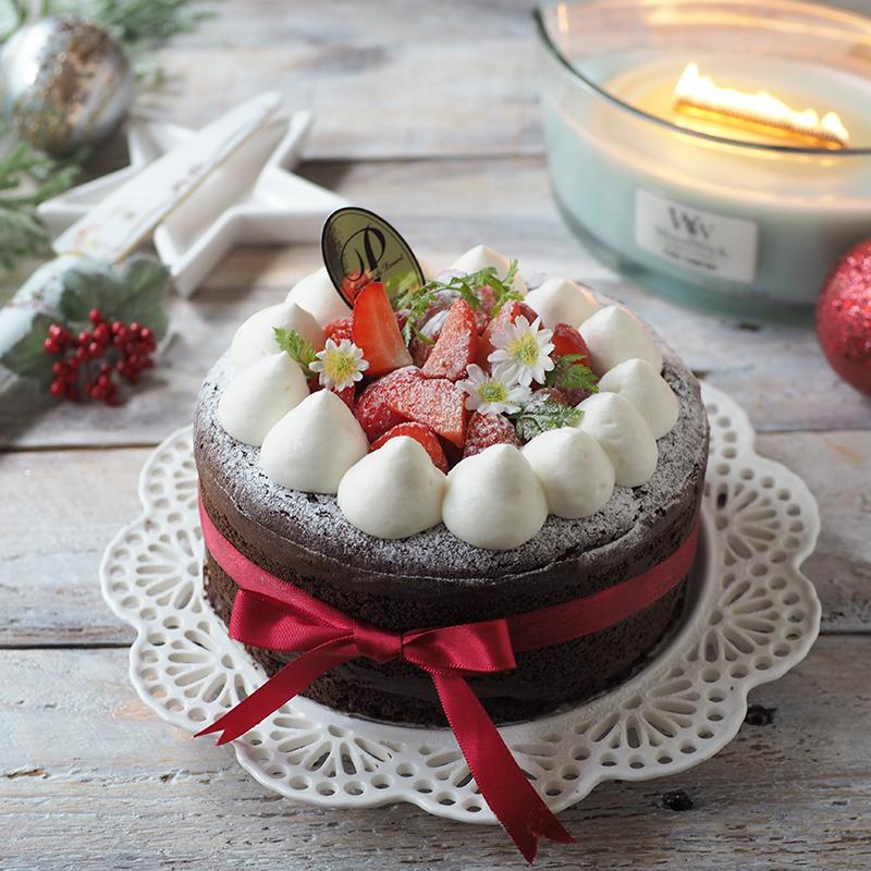 粉・砂糖無し!ほろ溶け〜低糖質チョコスフレチーズケーキ