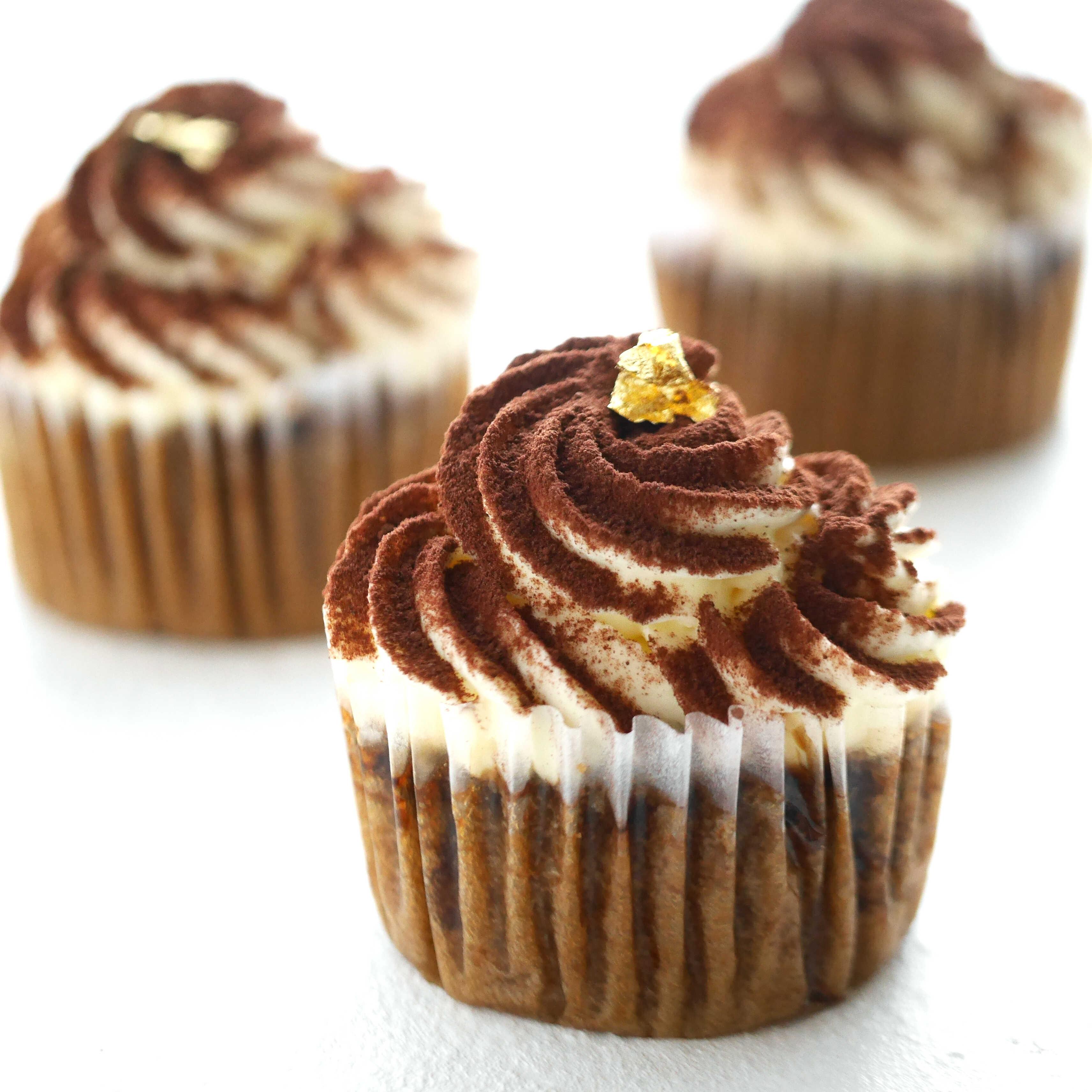 生チョコティラミスカップケーキ