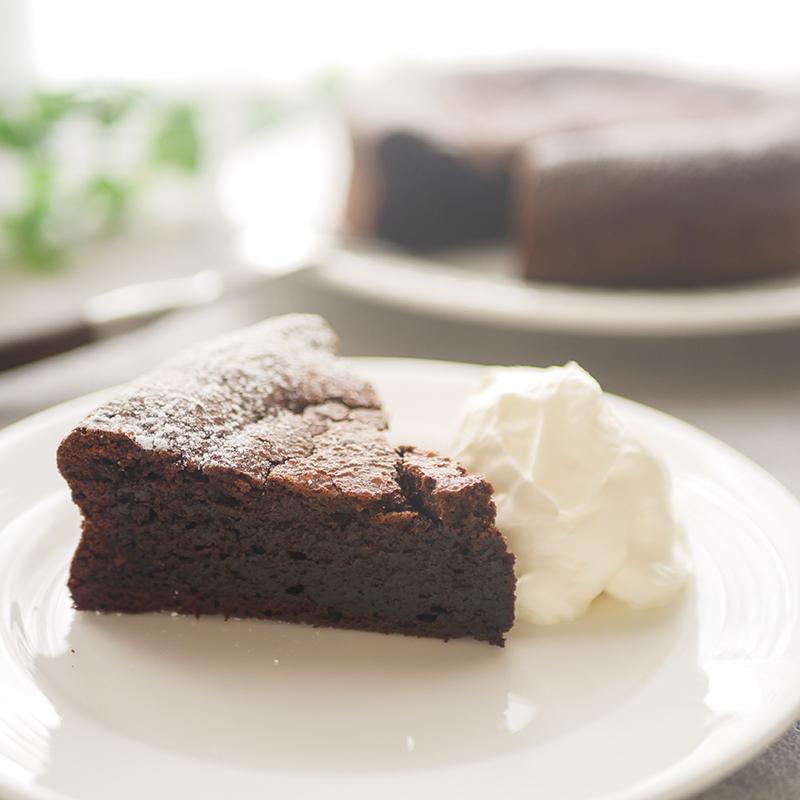 【低糖質レシピ】基本のガトーショコラ