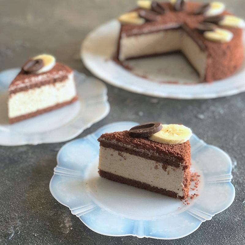 バナナムースチョコケーキ