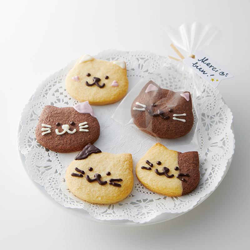 2色のネコちゃんクッキー【2020VDキットレシピ】