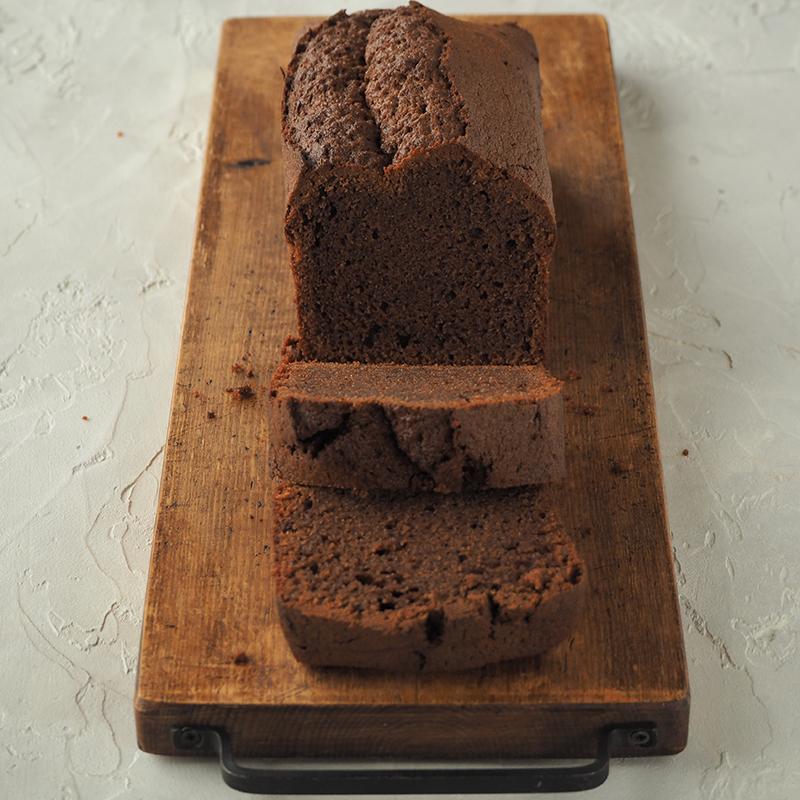 グルテンフリー!米粉のチョコパウンドケーキ