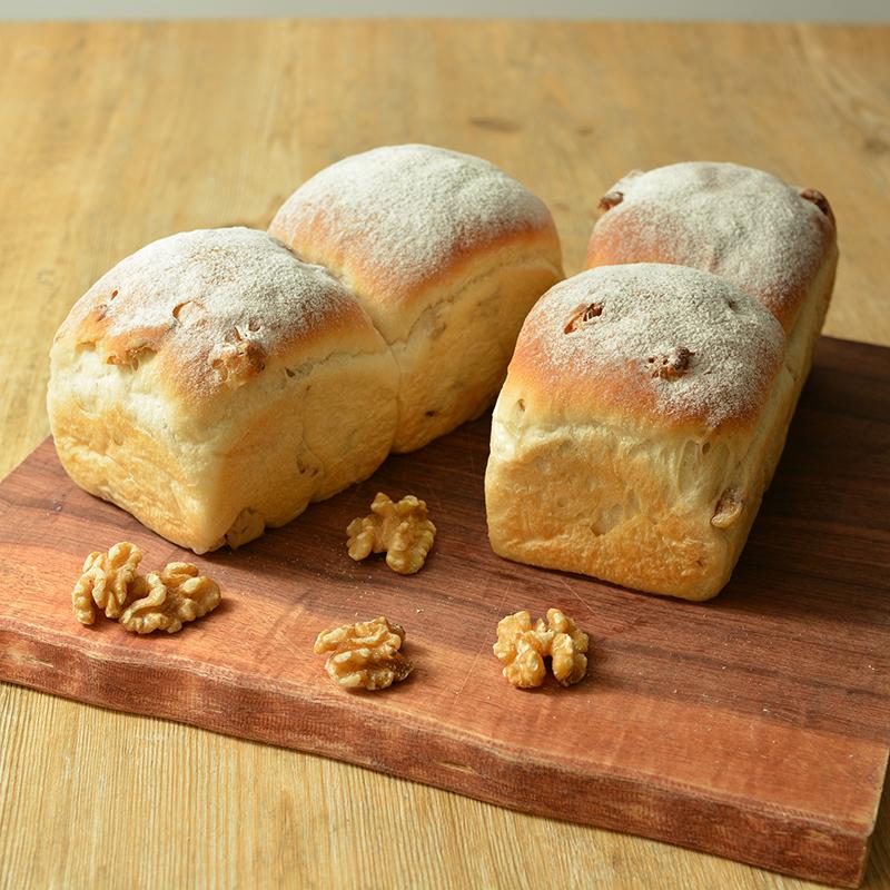 春よ恋プレミアム100%で作るもっちりクルミパン