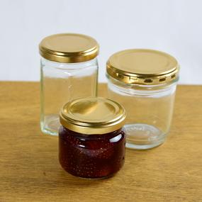 ジャムの保存方法(煮沸消毒+脱気)