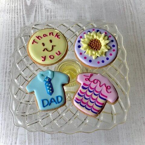 感謝を込めて。父の日アイシングクッキー