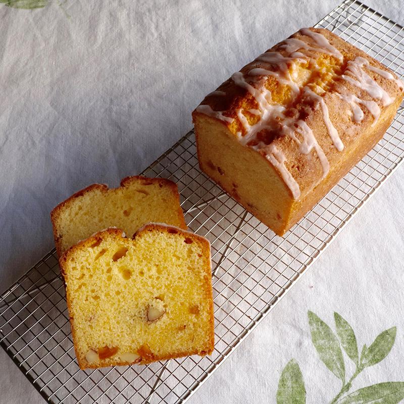 トロピカルな夏のパウンドケーキ