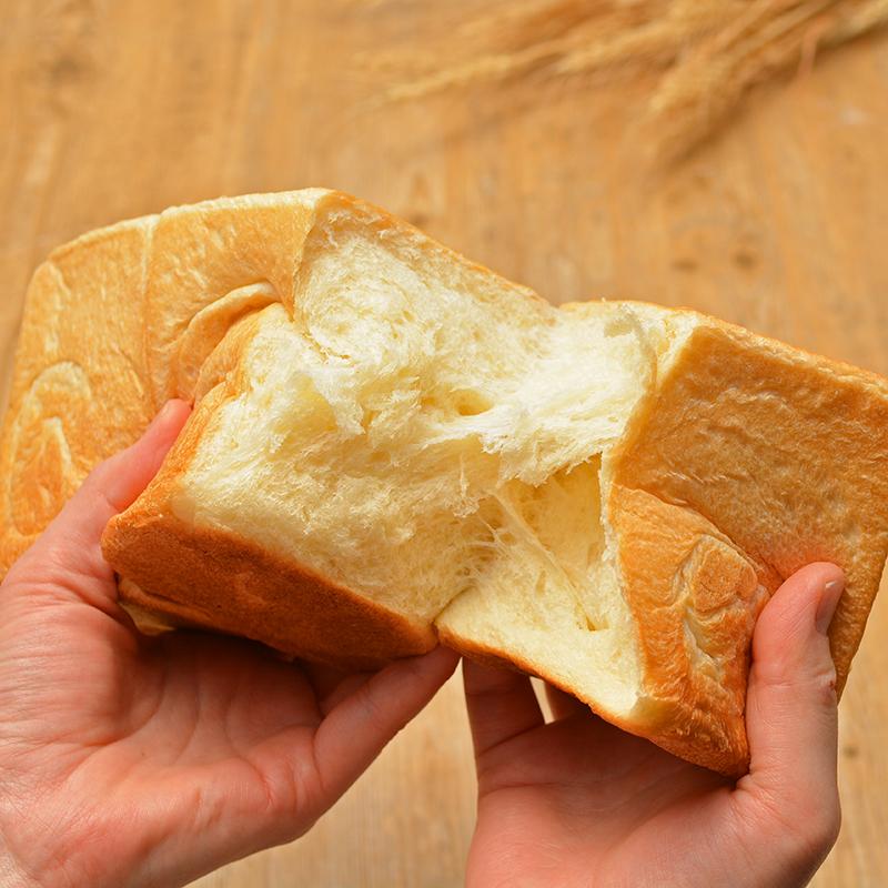 春よ恋100%で作る湯捏ね食パン