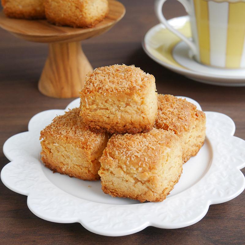 サクっほろ♪米粉のココナッツスコーン【卵・小麦・乳・砂糖不使用】