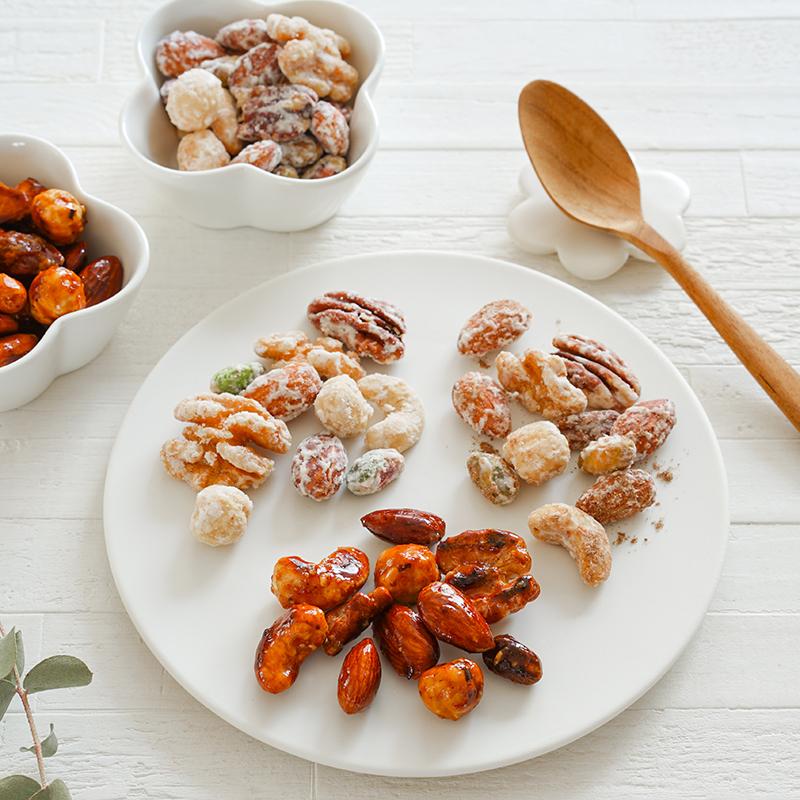 7種のナッツの砂糖掛け・キャラメリゼ