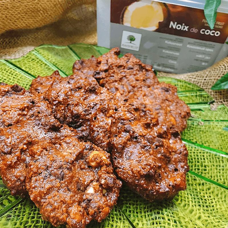 オランダ風グルテンフリー チョコチップクッキー