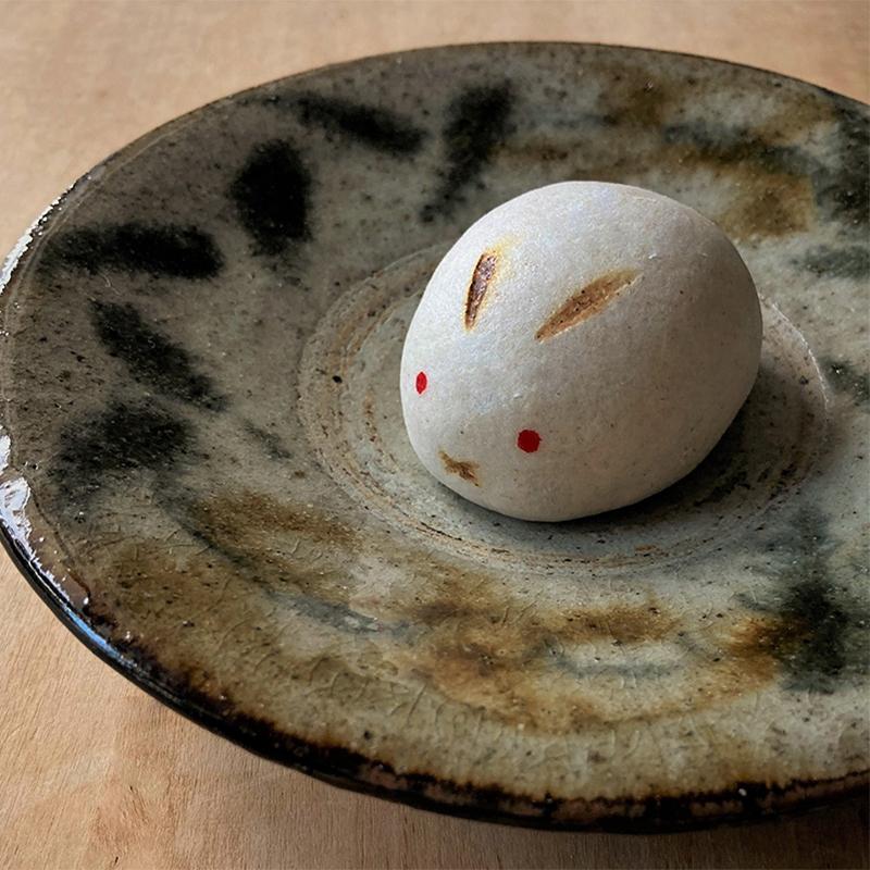 お月見 野うさぎ(蕎麦薯蕷まんじゅう)