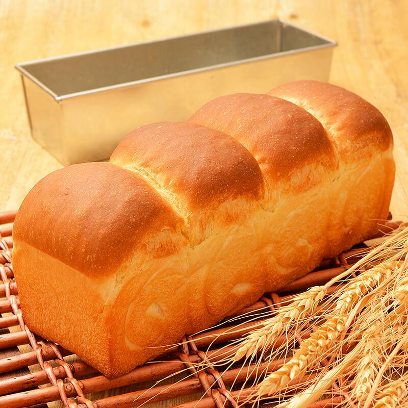 春よ恋プレミアム100%で作る ちょうど良いサイズの山型食パン