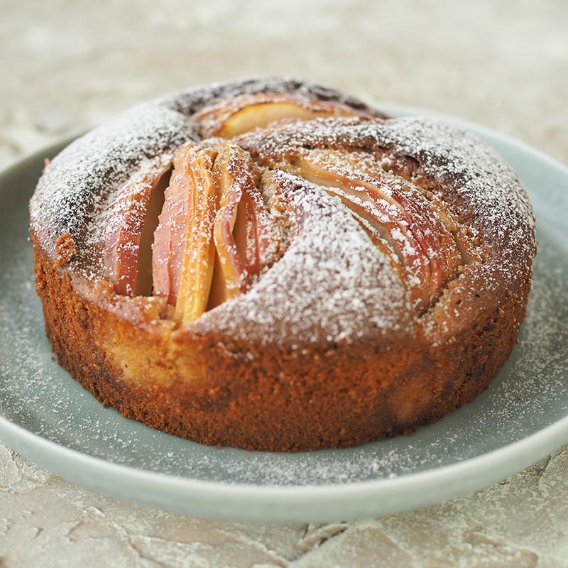 アップルアーモンドケーキ