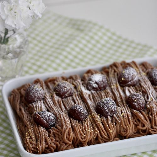栗のスコップケーキ