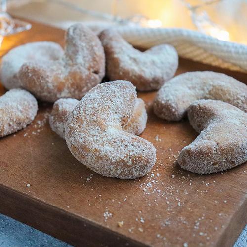 簡単!低糖質クリスマスクッキー キプフェル