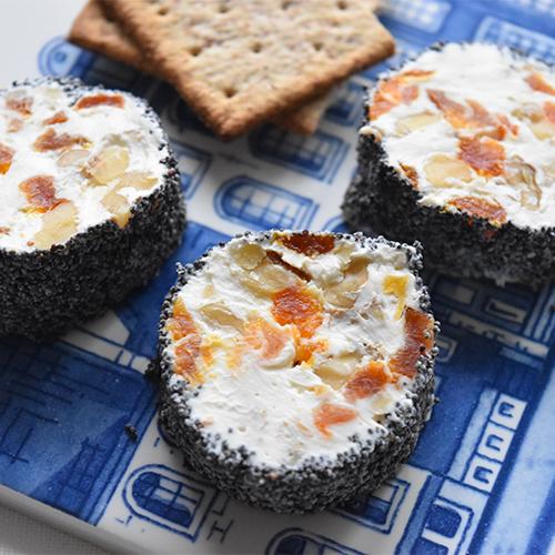 クリスマスが華やぐ簡単おつまみ クリームチーズのポピーシード...